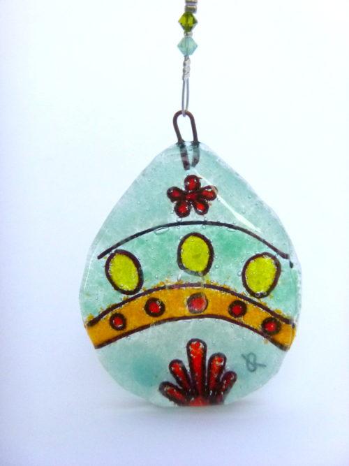Colourful Easter egg (C)