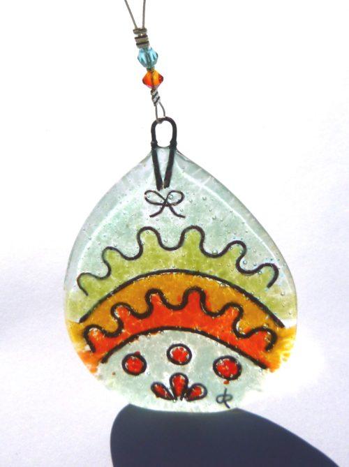 Colourful Easter egg (F)