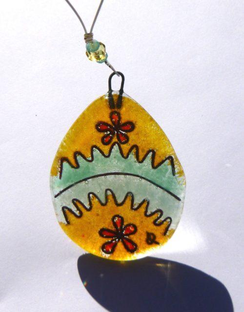 Colourful Easter egg (E)